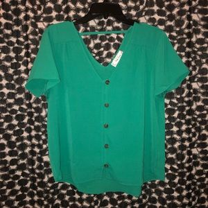 Emerald Work Blouse